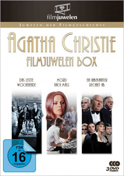 Agatha Christie Filmjuwelen Box
