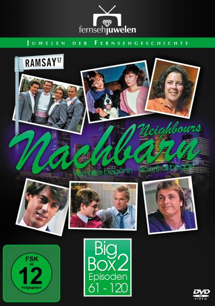 Nachbarn / Neighbours - Big Box 2 (Folge 61-120 + Booklet) (8 DVDs)