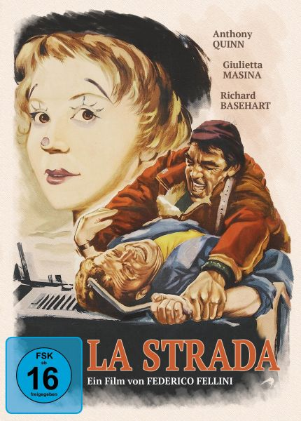 La strada - Das Lied der Straße - Limited Edition Mediabook (Blu-ray + DVD)