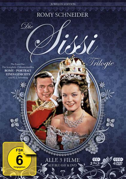 Sissi Trilogie - Juwelen-Edition (inkl. 3 DVDs + Bonus-DVD)