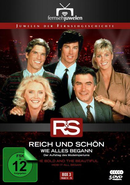 Reich und Schön - Box 3: Wie alles begann (Folge 51-75)