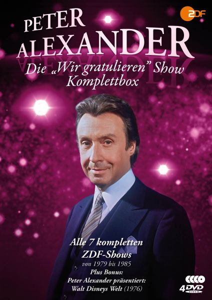 Die Peter Alexander 'Wir gratulieren' Show - Komplettbox (Alle 7 ZDF-Shows plus Disneys Welt)