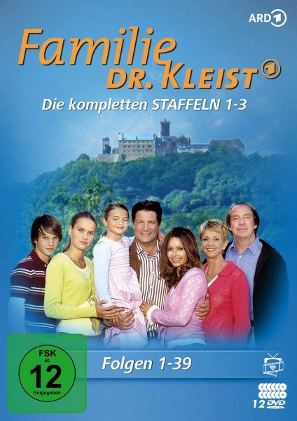 Familie Dr. Kleist - Die kompletten Staffeln 1-3 (Folgen 1-39) (12 DVDs)