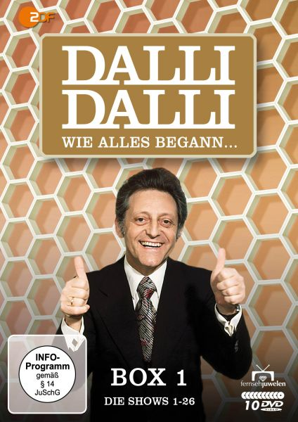 Dalli Dalli - Wie alles begann (Box 1: Die Shows 1-26) (10 DVDs)