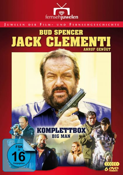 Bud Spencer: Jack Clementi, Anruf genügt (Komplettbox)
