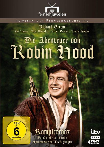 Die Abenteuer von Robin Hood - Die ARD-Gesamtedition (Alle 26 ARD-Folgen)