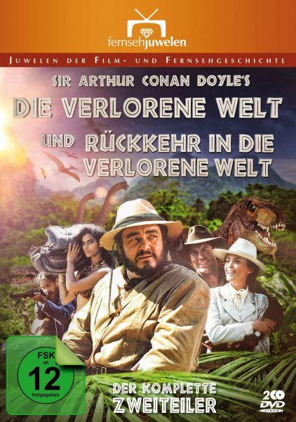Die verlorene Welt + Rückkehr in die verlorene Welt (Sir Arthur Conan Doyle)