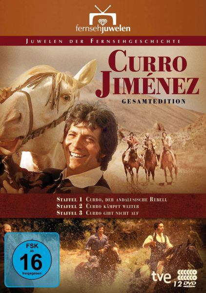 Curro Jiménez: Der andalusische Rebell (Komplettbox Staffeln 1-3) (12 DVDs)