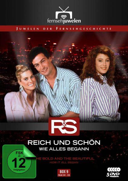 Reich und Schön - Box 9: Wie alles begann (Folge 201-225)