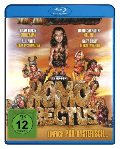 National Lampoon's Homo Erectus (Stoned Age) - Einfach Prä-Hysterisch! [Blu-ray]
