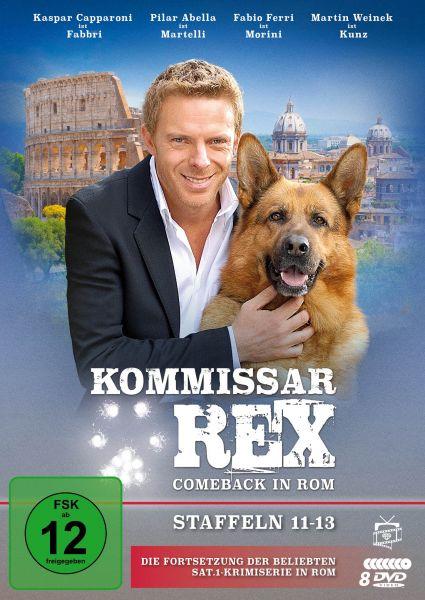 Kommissar Rex - Comeback in Rom (Staffeln 11-13) (8 DVDs)