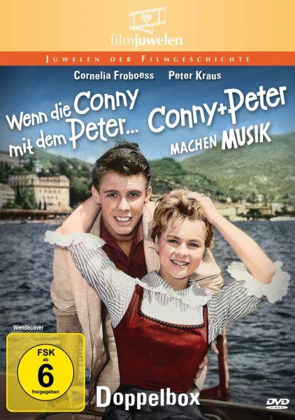 Conny und Peter: Wenn die Conny mit dem Peter & Conny und Peter machen Musik - Doppelbox