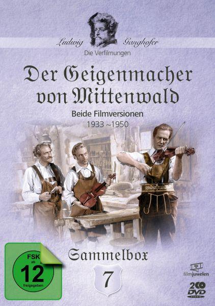 Der Geigenmacher von Mittenwald - Die Ganghofer Verfilmungen - Sammelbox 7
