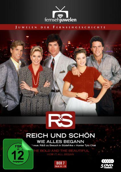 Reich und Schön - Box 7: Wie alles begann (Folge 151-175)