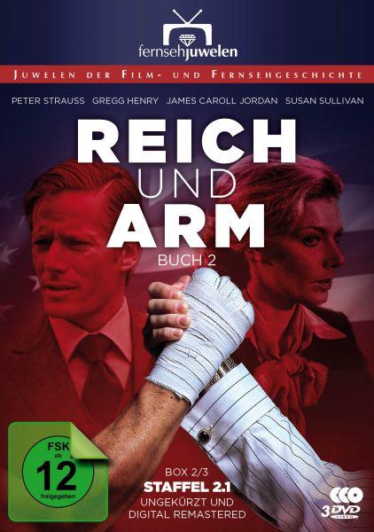 Reich und arm - Box 2: Buch 2, Teil 1 (Staffel 2.1 ungekürzt + remastered) -
