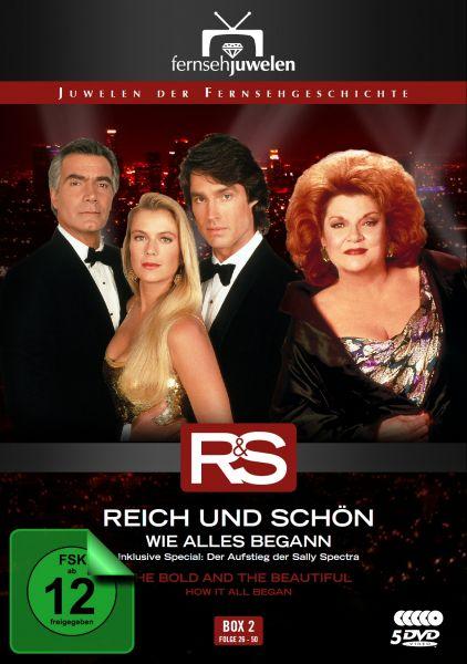 Reich und Schön - Box 2: Wie alles begann (Folge 26-50)