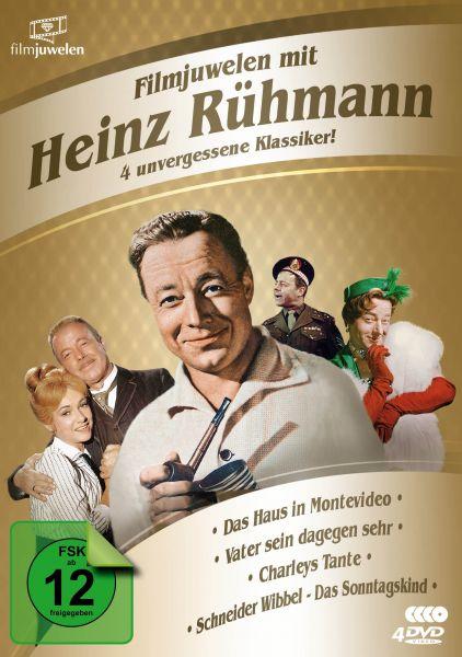 Filmjuwelen mit Heinz Rühmann: 4 unvergessene Klassiker!