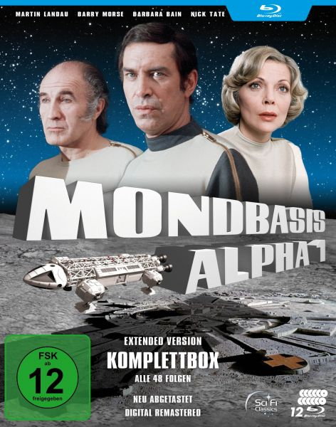 Mondbasis Alpha 1 - Extended Version HD-Komplettbox (Staffeln 1 + 2) (12 Blu-rays)
