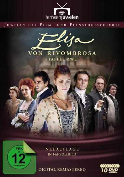 Elisa von Rivombrosa (Staffel 2) - Neuauflage (16:9 Vollbild + Booklet) (10 DVDs)
