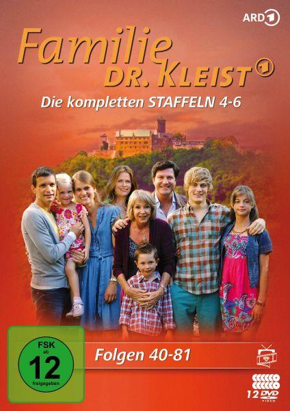 Familie Dr. Kleist - Die kompletten Staffeln 4-6 (Folgen 40-81) (12 DVDs)