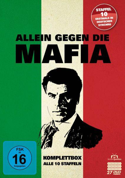 Allein gegen die Mafia - Komplettbox - Alle 10 Staffeln (27 DVDs)