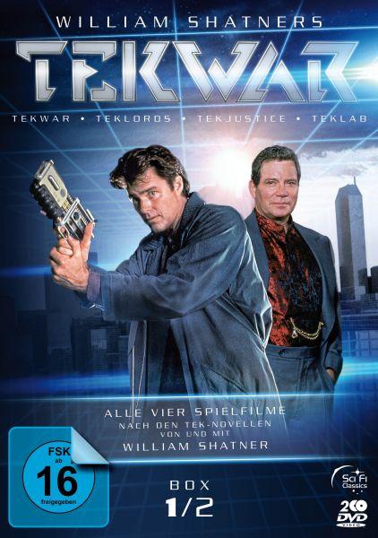 TekWar - Box 1/2: Alle vier Spielfilme