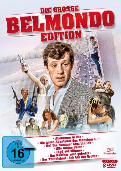 Die große Belmondo-Edition (8 DVDs)