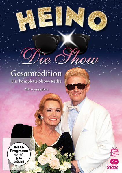Heino - Die Show / Gesamtedition: Die komplette Show-Reihe (Alle 4 Ausgaben)