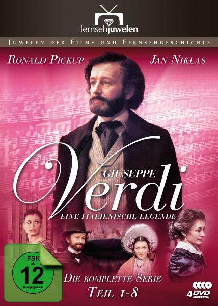 Giuseppe Verdi - Eine italienische Legende: Teil 1-8