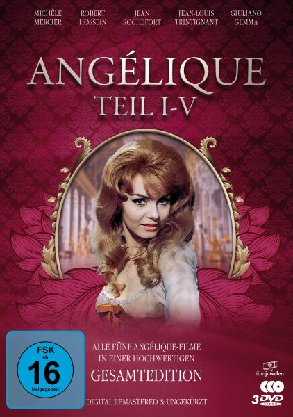 Angélique I-V - Gesamtedition (Alle 5 Filme - digital remastered)