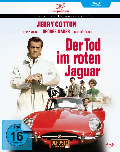Der Tod im roten Jaguar (Jerry Cotton)
