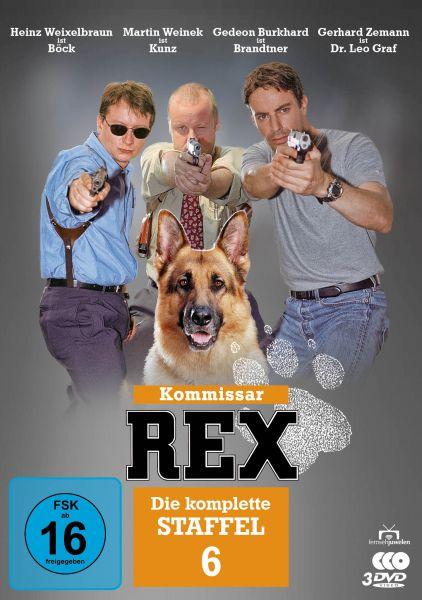 Kommissar Rex - Die komplette 6. Staffel