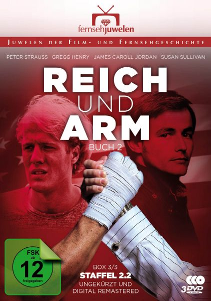 Reich und arm - Box 3: Buch 2, Teil 2 (Staffel 2.2 ungekürzt + remastered) -