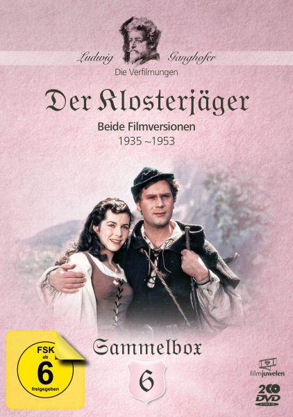 Der Klosterjäger - Die Ganghofer Verfilmungen - Sammelbox 6