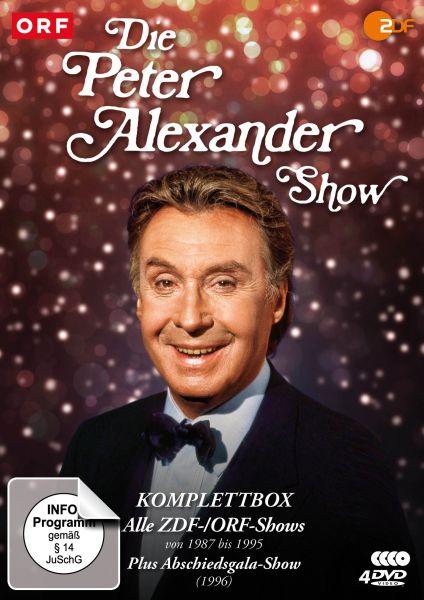 Die Peter Alexander Show - Komplettbox (Alle ZDF-Shows von 1987-1995 plus Abschiedsgala)