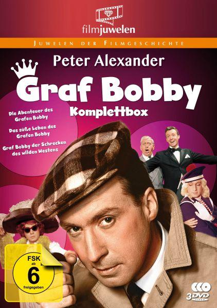 Peter Alexander: Graf Bobby Komplettbox - Die komplette Filmtrilogie