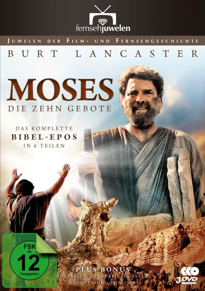Moses: Die zehn Gebote - Das komplette Bibel-Epos in 6 Teilen
