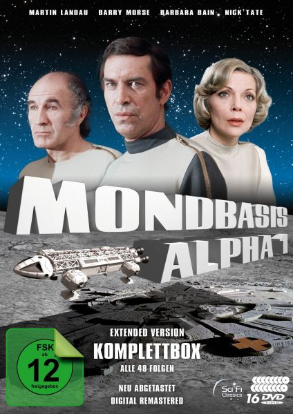 Mondbasis Alpha 1 - Extended Version Komplettbox (Neuabtastung) (16 DVDs)