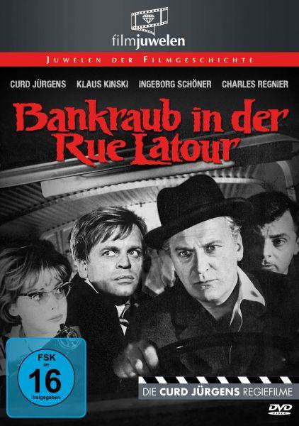 Bankraub in der Rue Latour - mit Curd Jürgens & Klaus Kinski