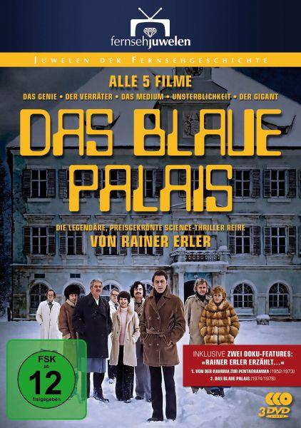 Das blaue Palais - Die komplette Filmreihe (Teil 1-5 inkl. Erler-Doku und Making-of)