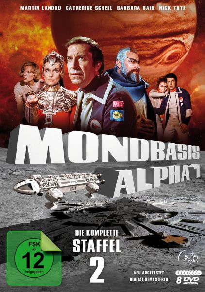 Mondbasis Alpha 1 - Extended Version - Staffel 2 (Neuabtastung) (8 DVDs)