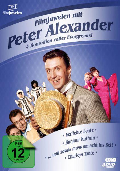 Filmjuwelen mit Peter Alexander: 4 Komödien voller Evergreens!