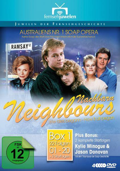 Nachbarn / Neighbours - Box 1: Wie alles begann - Fernsehjuwelen