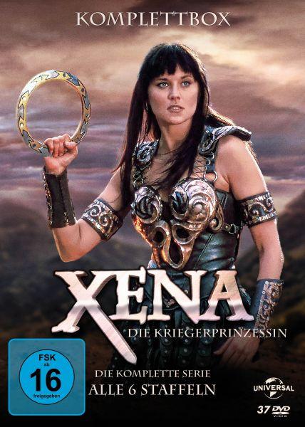 Xena - Die Kriegerprinzessin - Die komplette Serie (Alle 6 Staffeln) (37 DVDs)
