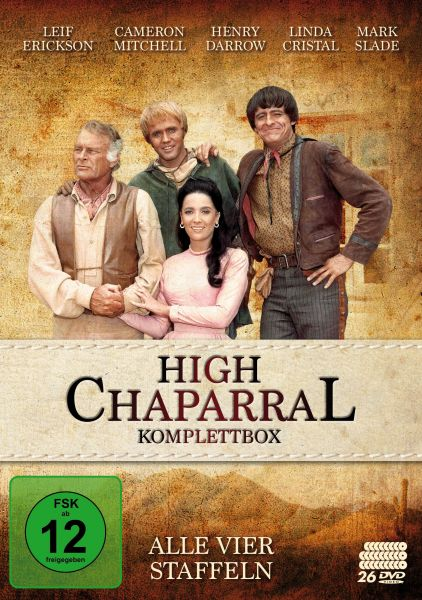 High Chaparral - Komplettbox: Alle vier Staffeln (26 DVDs)