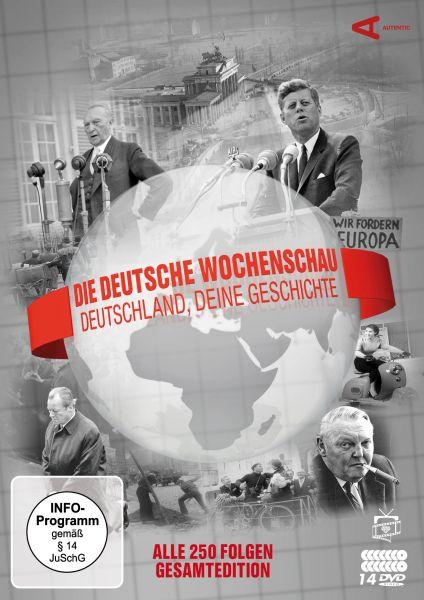 Die Deutsche Wochenschau - Deutschland, deine Geschichte: Komplettbox (Alle 250 Folgen) (14 DVDs)