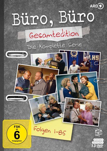 Büro, Büro - Gesamtedition: Die komplette Serie (Alle Folgen 1-85) (13 DVDs)