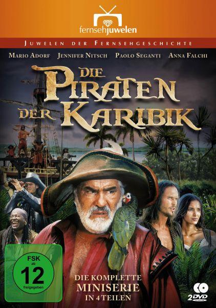 Die Piraten der Karibik - Die komplette Miniserie in 4 Teilen
