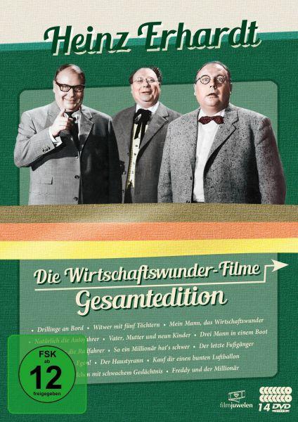 Heinz Erhardt: Die Wirtschaftswunder-Filme Gesamtedition (14 DVDs)