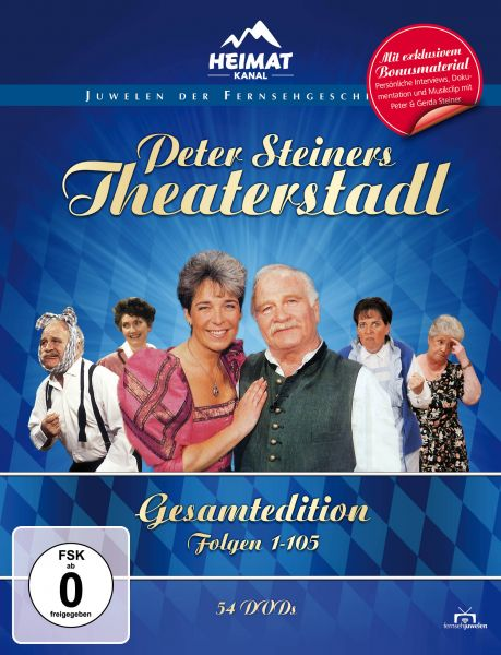 Peter Steiners Theaterstadl - Gesamtedition (54 DVDs)